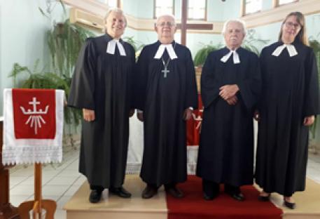 Jubileu de 30 anos de Pastorado do P. Roberto Schulz