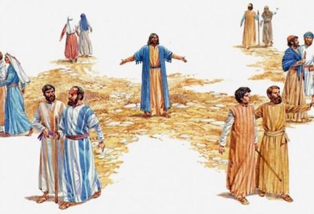 Jesus envia os discípulos para que aprendam a confiar na bondade das pessoas.