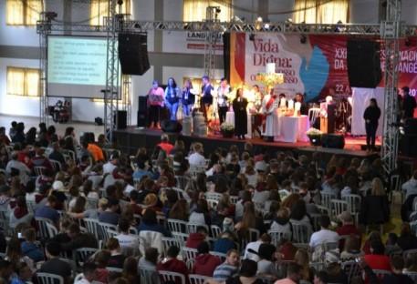 Congrenaje inicia em Teutônia e recebe mais de 1600 pessoas participantes