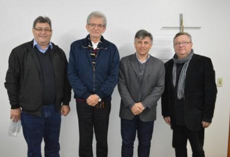 Presidência da IECLB recebe convite para a celebração dos 50 anos da ABEFI