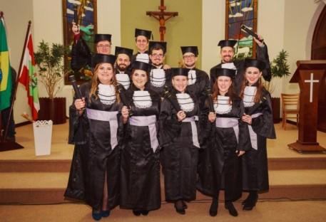Colação de Grau do Curso de Bacharelado em Teologia