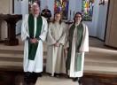 PPHM Manuela Marezani Schwingel é apresentada no culto em Gramado