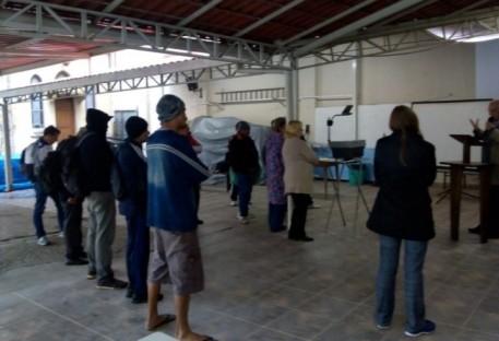 Paróquia Centro de São Paulo reinicia trabalho com Moradores de Rua