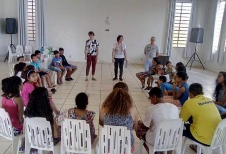 Ministério com crianças em Rio Claro/RS