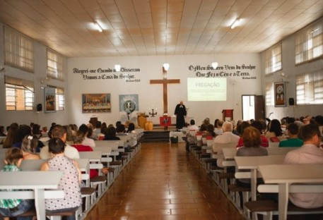Comunidade de Pato Bragado/PR realiza Culto de Ação de Graças