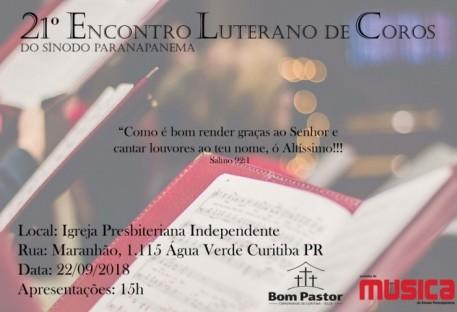 21º Encontro Luterano de Coros