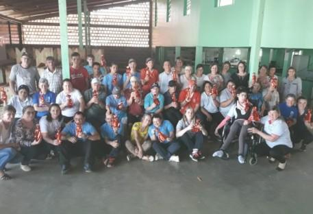 OASE de Iraceminha/SC recebe alunos da APAE