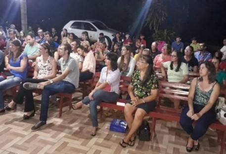 Comunidade Paz (Lh 9) inaugura espaço de confraternizações