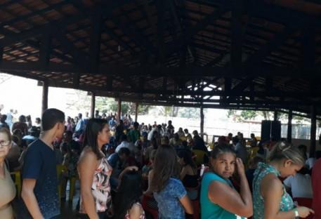 Ação beneficente em Marianópolis-TO