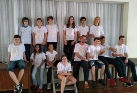 Confirmand@s de Cosmópolis, Artur Nogueira e Paulínia vestem a camisa do tema do ano da IECLB
