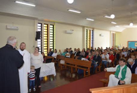 Isaías Steinmetz é acolhido em Giruá/RS para o Período Prático de Habilitação ao Ministério