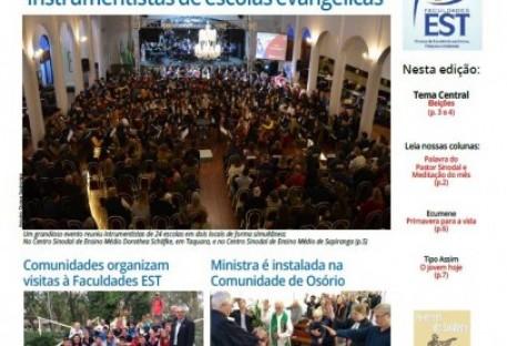 Jornal Sinos da Comunhão - Ano 20 - Nº. 210 - Outubro 2018
