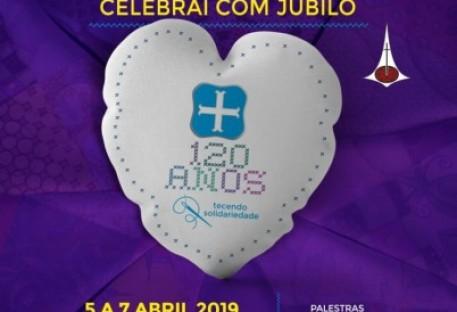 Convite para Celebração dos 120 anos de OASE no Brasil