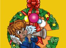 Uma Guirlanda para esperar o Natal