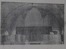 Idealizado por Aldo Krieger, órgão de tubos de 1,2 mil flautas faz parte da história do coro