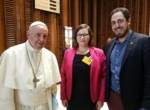 Julia Braband, membro do Conselho da FLM, falou ao Sínodo dos Bispos Católicos