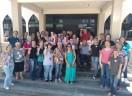 Colaboradores nas comunidades e paróquias participaram de encontro em Itapema/SC