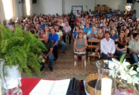 Inauguração da casa pastoral de Ponto Alto - Domingos Martins/ES