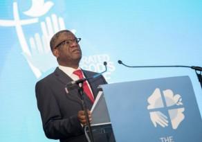 Palestrante da Assembleia da Federação Luterana Mundial(FLM), na Namíbia, recebe o Prêmio Nobel da Paz