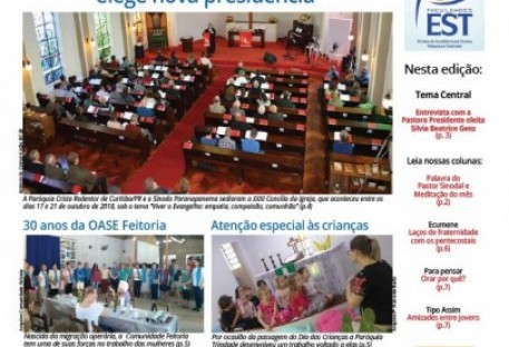 Jornal Sinos da Comunhão - Ano 20 - Nº. 211 - Novembro 2018