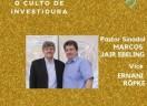 Convite para o Culto de Investidura do Pastor Sinodal e Vice-Pastor Sinodal do Sínodo Sudeste