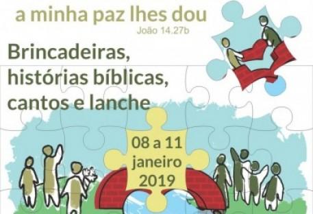 Nas Férias com Jesus - 2019
