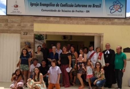 Dedicação do Novo Espaço Comunitário em Teixeira de Freitas/BA
