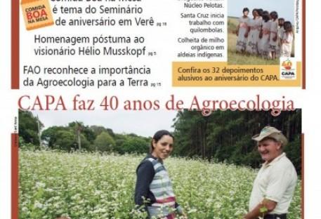 O Recado da Terra. Ano XXII, Número 46, outono de 2018 - CAPA faz 40 anos de Agroecologia