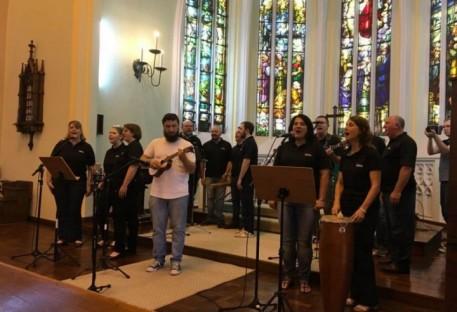 Grupo Aleluia lança CD em Novo Hamburgo/RS