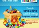 Campanha de Brinquedos da Paróquia São Mateus - Joinville/SC