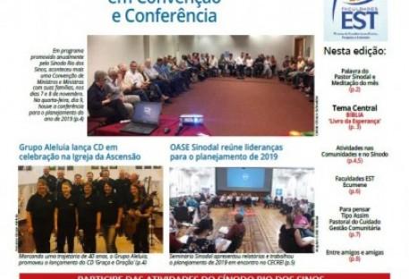 Jornal Sinos da Comunhão - Ano 20 - Nº. 212 - Dezembro 2018