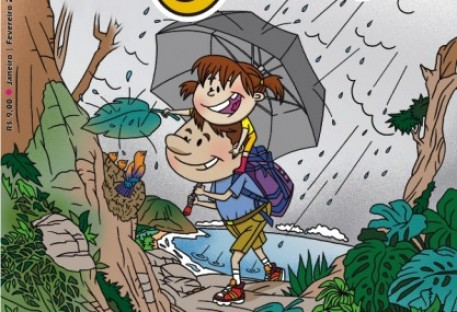 Que tal as crianças curtirem as férias com a revista O Amigo das Crianças?