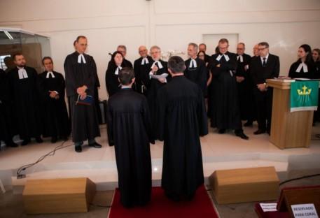 Sínodo Centro-Sul Catarinense celebra ato de investidura do Pastor Sinodal