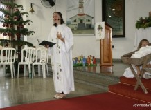 Culto de Véspera de Natal na Paróquia Evangélica de Confissão Luterana Apóstolo João, Jaraguá do Sul/SC