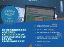 Especializações EaD na Faculdades EST - Inscrições até 30/01