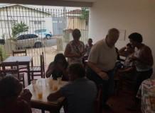 Ministério com moradores de rua
