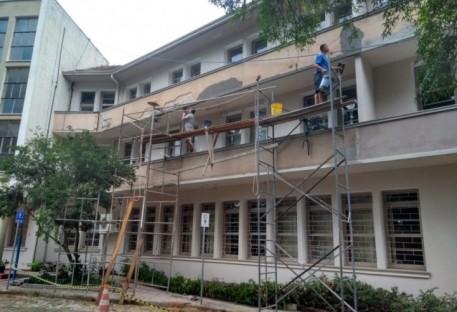 A reforma do Prédio S da Faculdades EST continua com força total!