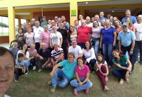 Formação de Presbitérios da Paróquia Evangélica Apóstolo João - Jaraguá do Sul/SC