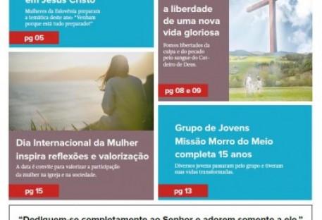 Joinville Luterano. Ano XIX -  Número 111 - Março e Abril 2019
