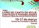 Livro de Canto da IECLB: Conteúdo e Possibilidades
