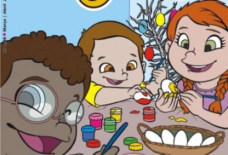 Que tal presentear as crianças na Páscoa com a revista O Amigo das Crianças?