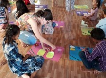 Encontro com as crianças em Itaituba/PA