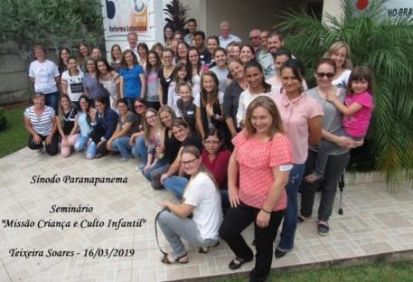 Seminário sobre Missão Criança e Culto Infantil - Sínodo Paranapanema - Teixeira Soares/PR