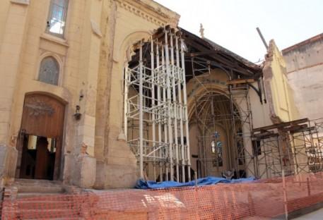 Início da reconstrução da Igreja Martin Luther em São Paulo/SP