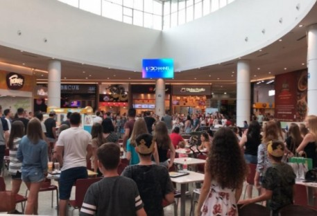 Flash Mob no Shopping