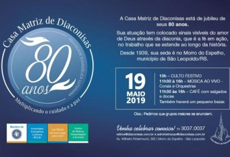 80 Anos da Casa Matriz de Diaconisas