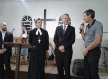 Instalação de 4 novos ministros no Sínodo Centro-Sul-Catarinense