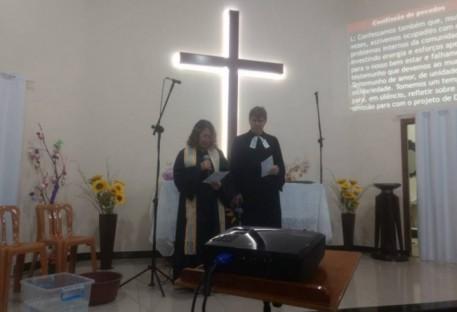 Celebração do Tríduo Pascal em Ferraz de Vasconcelos/SP