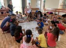 Encontro de Páscoa com as crianças em Itaituba/PA