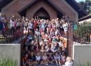 Oficinas de Páscoa na Paróquia Cristo Salvador - Curitiba reuniu muitas crianças